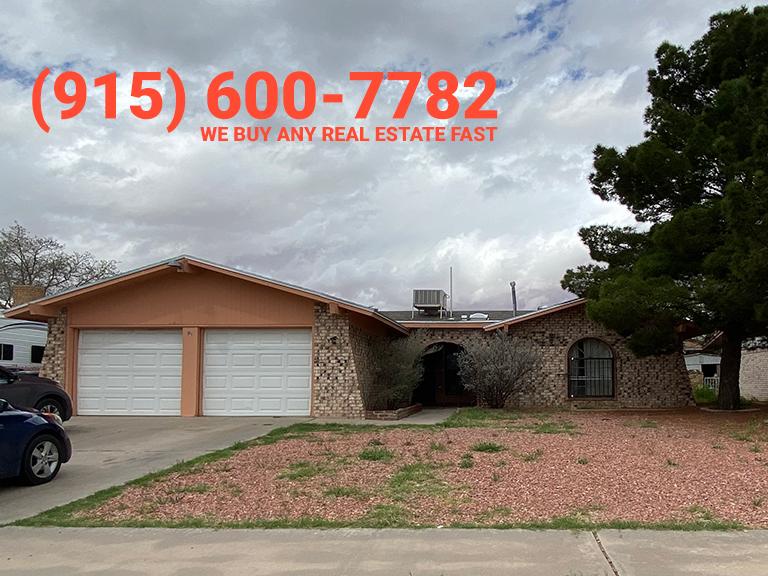 El Paso TX quick sell property